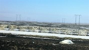 Щит для снегозадержания