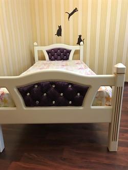 Кровать белая - фото 8288