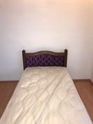 Кровать ЛДСП - сирень
